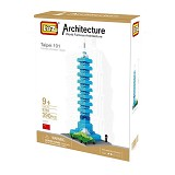 LOZ Taipei 101 [9365] - Building Set Architecture